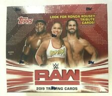 2019 TOPPS WWE RAW RETAIL BOX
