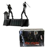 "The Crow Eric Draven vs Top Dollar Rooftop Battle 7"" Figure Box Set  18"