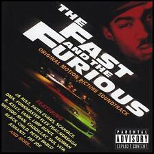 FAST AND THE FURIOUS - SOUNDTRACK CD ~ JA RULE~TANK~LIMP BIZKIT~ASHANTI ++ *NEW*