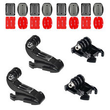 12Pcs Accessories Adhesive Mount K-Hook Activity Base For Gopro Hero 3 3+ 4 5 6