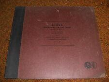 WALTER GIESEKING COLUMBIA 78 RPM RECORD SET X-17 LISZT CONCERTO #1 HENRY WOOD