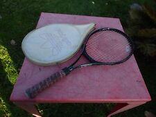 raquette de tennis vintage Adidas Contender 10 avec housse