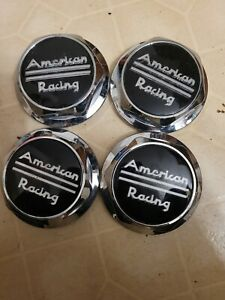NOS 89-9063 American Racing center caps set of 4
