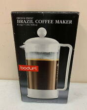 BODUM Bodum BRAZIL French Press coffee maker 1.01/34 fl oz. 1548 NEW - box open