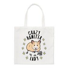 Crazy hámster Mujer Estrellas Pequeño Bolso de mano - Divertido Animal Mascota