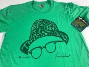 Winning Isn't Everything Only Thing T-Shirt Adult XS/S Vince Lombardi Packers
