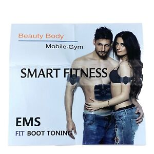 EMS Fit Boot Toning - Abs Stimulator-Smart Fitness - Beauty Body - Mobile-Gym UK