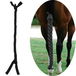 Horse Tail Guard Braid Long Pony Tail Decoration Equestrian Accessories