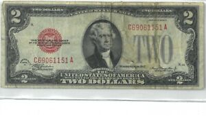 1928-D Two Dollar United States Note 174870p