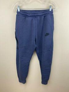 Nike Boys Youth XL NSW Fleece Tech Jogger Pants Sweatpants Blue READ FLAW