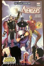 FCBD 2018 AVENGERS/CAPTAIN AMERICA #1 free comic book day  UNSTAMPED