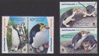 2007 AAT Australia Post - Design Set - MNH - Royal Penguins - SG176 > SG179
