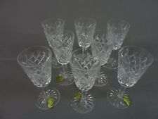 More details for set of 8 waterford crystal shannon jubilee 5 1/8