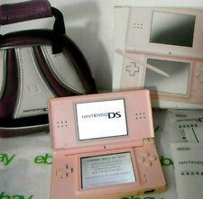 DS Lite Nobel Pink Console System Complete in Original Package Bundle