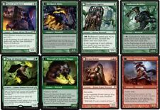 Werewolf EDH (Red Green) Deck #2 - Mayor Avabruck  Magic Gathering MTG 100 Cards