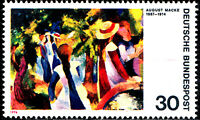 816 postfrisch BRD Bund Deutschland Briefmarke Jahrgang 1974
