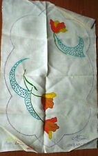 Vintage Myart Embroidery Flower Doiley - Design 1587- 1 Doiley