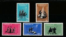 Anguilla  1968 Christmas  Set of 5 Values MNH  scan 1206