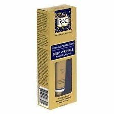 New ROC Retinol Correxion Deep Wrinkle Night Cream 1oz or Facial Cleanser 5.07oz