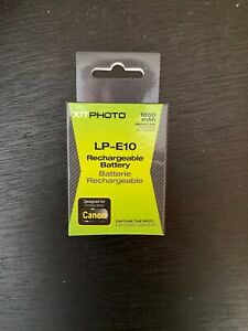 LP-E10 1850mAh Lithium-ion Replacement Battery f/Canon Rebel T3 (1100D KISS X50)