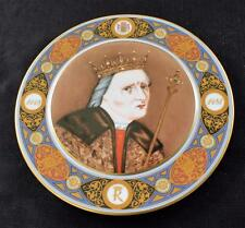 "Vintage BING & GRONDAHL Denish Monarch KING CHRISTIAN I 9""d Cabinet Plate #2"