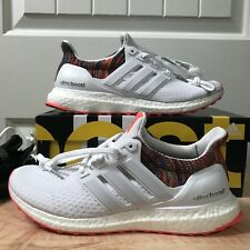 f4813a777a588 Mi Adidas Ultra Boost Rainbow 2.0 White Multicolor BY1756. Size 8.5. DS