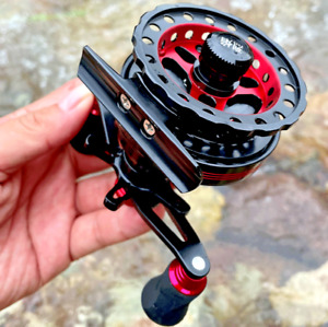 Raft Fishing Reel Wheel Roller Coil 7 BB 10kg Drag Ice Fly 2.6:1 CNC Processed