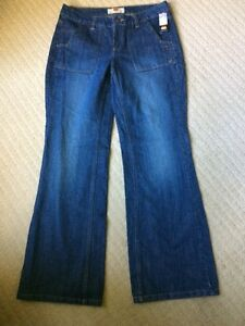 NWT ROUTE 66 Womens Size 10 Stone Washed Cotton Jeans F-8