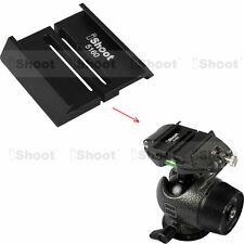 Adapter for Arca fit Quick Release Plate to GITZO Tripod Ball Head for GS5160CDT