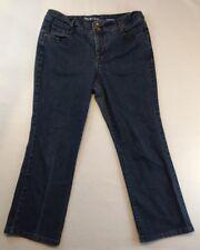 "Style & Co Petites Women's Boot Cut Blue Jeans Medium Wash 14P Inseam 28""    *B1"