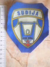 WEIGHTLIFTING REFEREE VINTAGE PATCH SPORT EMBLEM YUGOSLAVIA STATE CUP