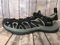 Keen Waterproof Sport Hiking Sandals Black Womens Size 8.5 5124-BKGA  A1
