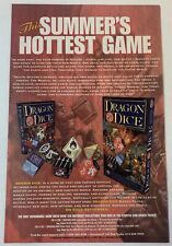 1995 TSR ad page ~ DRAGON DICE ~ Dungeons & Dragons