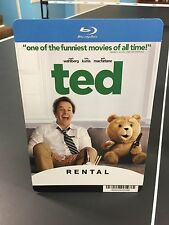 """Movie Backer Card """"Ted"""" Bluray (Not the Movie) *Mini Poster*"""