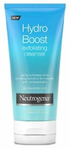 Neutrogena Hydro Boost Exfoliating Cleanser 5 oz, YOUR CHOICE