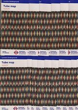 10 LONDON TUBE (UNDERGROUND, SUBWAY ) MAPS Issue December 2016