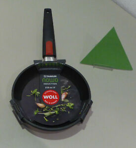 WOLL Frying Pan 20 CM Nowo Titanium Induction 1520IL Pan Coated New