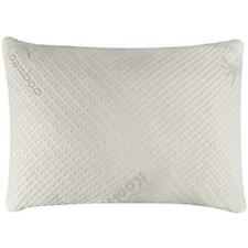 Snuggle-Pedic Bamboo Shredded Memory Foam Combination Pillow Queen Size - White