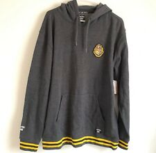Vans Harry Potter Sweatshirt Hoodie Pullover Men's Large L Gray Yellow Grey New