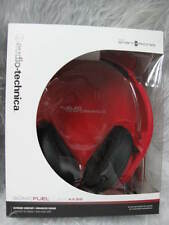 Audio-Technica ATH-AX3iS SonicFuel Over-ear Headphones for Smartphones Red