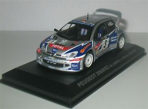 Peugeot 206 WRC - 3rd Rally de Portugal 2002 - Miguel Campos (IMPROVED)