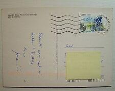 1999 Italia 800 lire  Fausto Coppi  su cartolina  Pale di san Martino