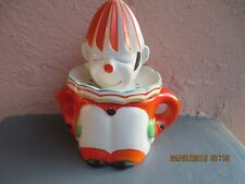 vintage ceramic clown juice squeezer made in Japan 1950's