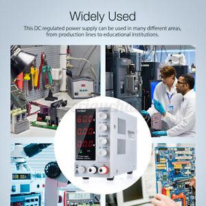 60V Netzgerät Labornetzgerät Labornetzteil LED Regelbares Schaltnetzteil Trafo
