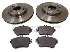 MERCEDES A160 A180 2012-2017 FRONT 2 BRAKE DISCS & PADS (CHECK DISC SIZE 280MM)