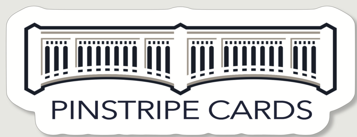 Pinstripe Cards