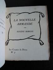 Marsan-La nouvelle Armande-Les Coussins du Divan n°7 Aurore-E.O. 1929-T. 250 ex.