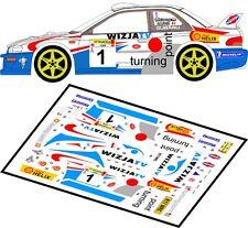 DECALS 1/43 SUBARU IMPREZA WRC #1 -HOLOWCZYC - RALLYE ELMOT 1999 - MFZ D43014