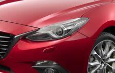 New Genuine Mazda 3 Headlight Protectors Headlamp Covers BM Model 2013-04/2016