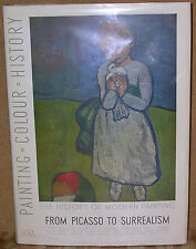 History of Modern Painting: Picasso to Surrealism-1st Ed./DJ-1950-Dali, Chagall